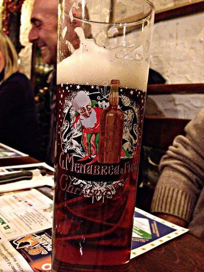 Christmas Beer Menabrea