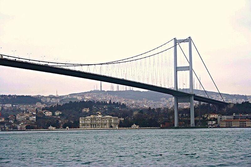 Bosphorus bridge in Istanbul Bosphorus Bridge Istanbul Turkey Streetphotography Citytrip