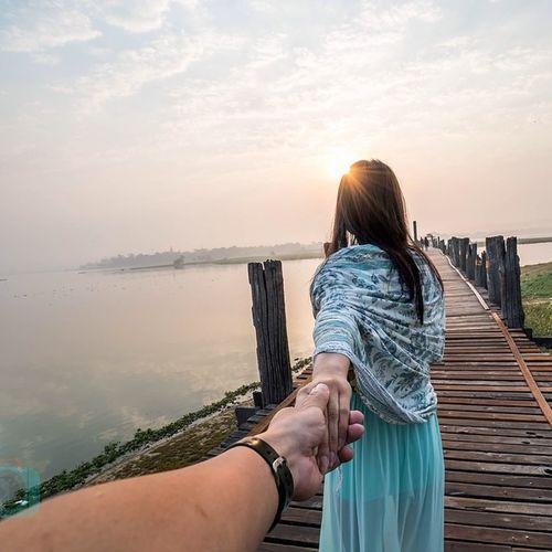A walk on the worlds longest teakwood bridge CopyCatCustard Burma Ubienbridge @natgeo @outlanderly Joetographr CopyCatCustard Followmeto Explorewithmeto Takemeto Burma Mandalay Picoftheday Sunrise Outlanderly Joetographr