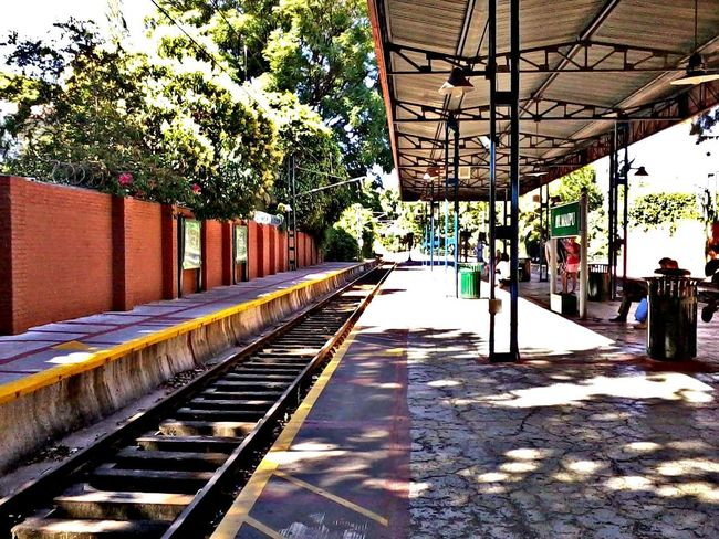 Tren de La Costa, Buenos Aires.Built Structure Transportation Tree Architecture Day Outdoors No People Sky City Train Station Buenos Aires, Argentina  Tren De La Costa Argentina Photography