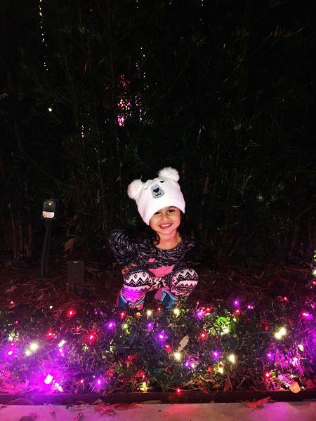#littlegirl #Littleprinces #stepdaughter #texas #Houston TX Celebration Christmas Decoration Decoration Tradition Christmas Lights Happiness Childhood Excitement Night Holiday - Event Snowman Celebration Event Christmas Ornament One Person