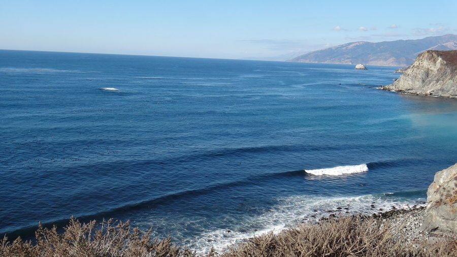 PISMO BEACH CALIFORNIA USA Beach Beauty In Nature Coastline Exploring Geology Horizon Over Water Ocean Outdoors Physical Geography Remote Rippled Rock Rough Sea Seascape Shore Surf Water Waterfront Wave