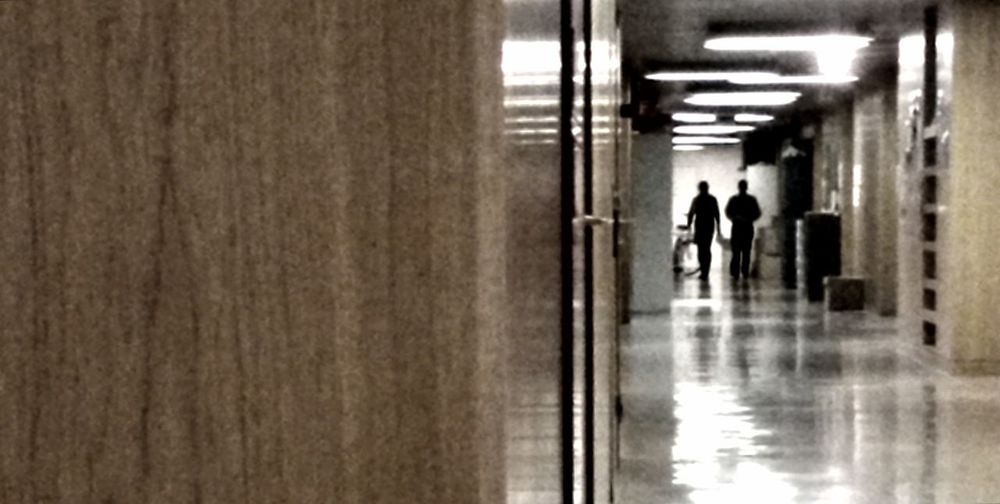 Light And Shadow Streetphotography Corridors  Silhouette