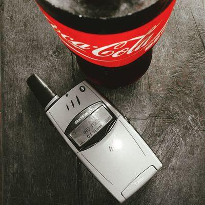 Ngadem bareng Coca Cola feat Ericsson T28s