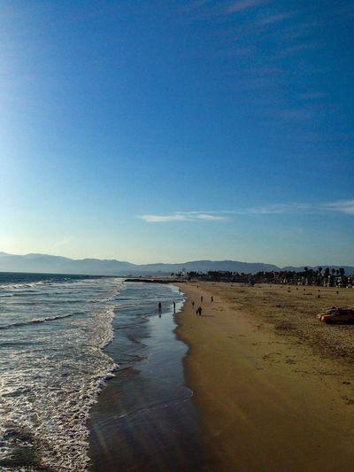 EEA3-Santa Monica / Venice Beach Venice Beach Life Is A Beach Beach Beachphotography Beach Photography Sky Skyporn NEM Submissions Road Trip!