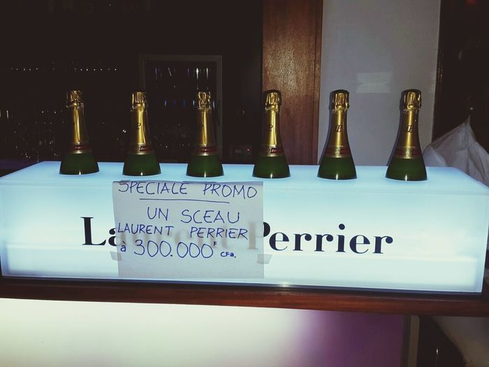 le champagne ce bon