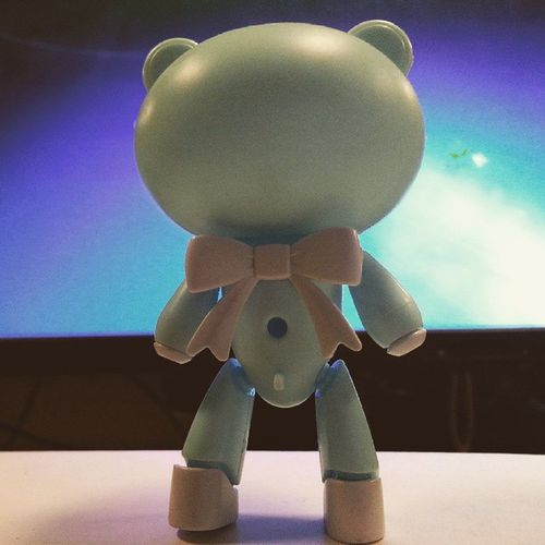 Its just you against the world. Bearguy Japantoys