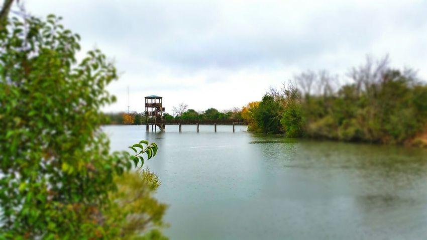 No Swimming Lake View Cloudy At The Park Rainy Day Edit
