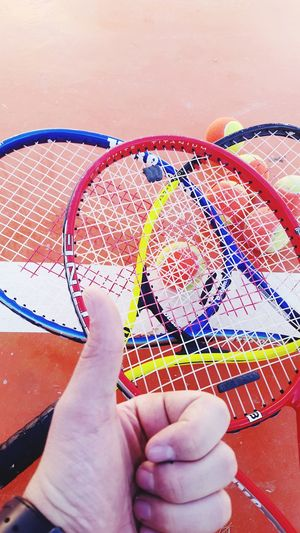 Sunday Afternoon With Friends Playing Tennis First Eyeem Photo