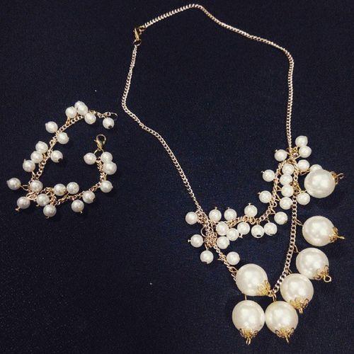 😉 wanna? beli 1 set 40rb (kalung & gelang) Terpisah kalung 35rb gelang 15rb 😄 Handmade Jewelry Murah COD Kalung Necklace Batam Kepulauanriau INDONESIA
