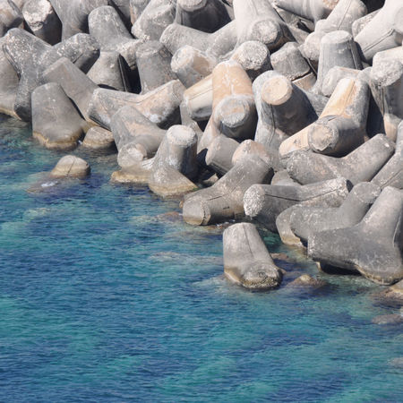 Reef water contrast Beach Blue Blue Grey Cliff Concept Contrast Day Leuca Nature No People Outdoors Reef Sea Stones Water