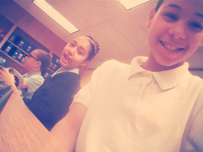Me And Tiana In School ;p