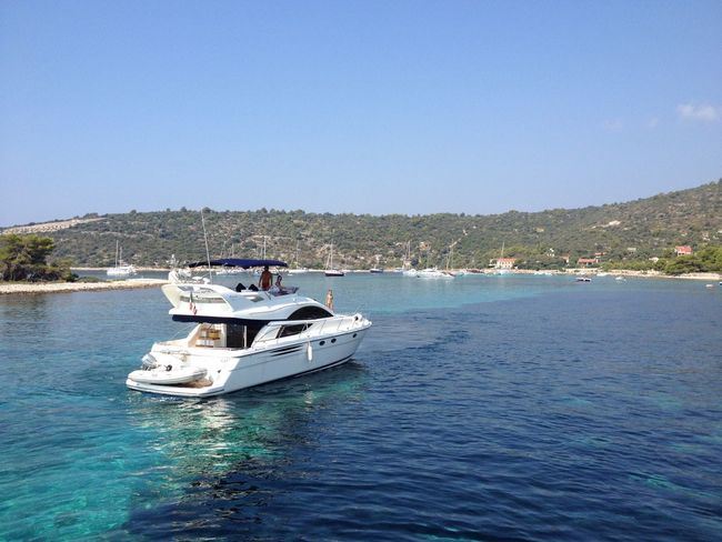 Another day in the office Croatia Adriatic Sea Yacht