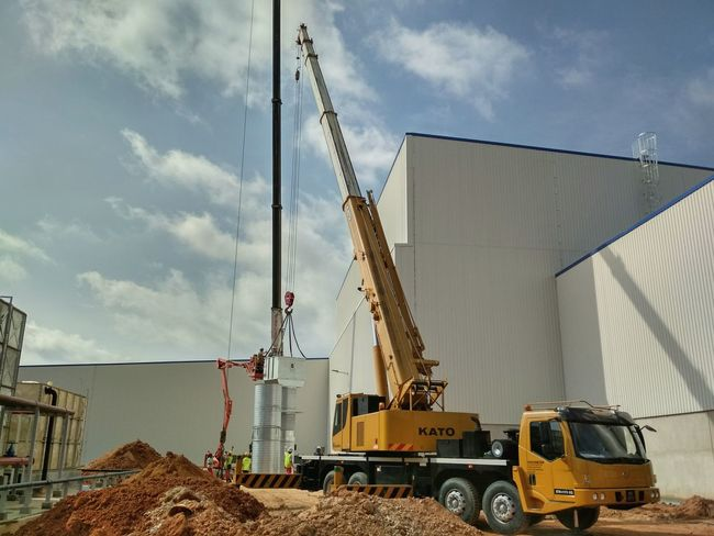 Friday heavy work. Outdoors Industry Agriculture Day Cloud - Sky Sky Contruction Contruction Zone Electronics Industry