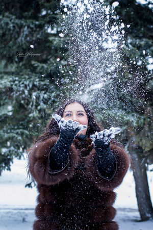 Nikon Азов Nikond3200 Photographer JuliaVidyapina JReshetnyak ❄ ростов Water Adults Only One Woman Only Only Women Adult One Person People Front View Young Adult Winter Standing One Young Woman Only Young Women Portrait Motion Day Outdoors Women Snow Beautiful Woman
