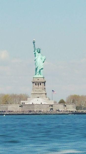 Lady Liberty Newyorkcity Ellis Island  Travel Photography