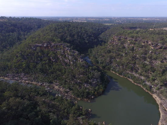 Aerial View Beauty In Nature Cliff, Precipice, Rock Face, Crag, Bluff, Ridge, Escarpment, Scar, Scarp, Ledge, Overhang Day Elevated View Green Color Growth Hill Idyllic Landscape Lush Foliage Mountain Nature No People Non-urban Scene Outdoors Plant Remote River View Scenics Sky Tranquil Scene Tranquility Tree Water