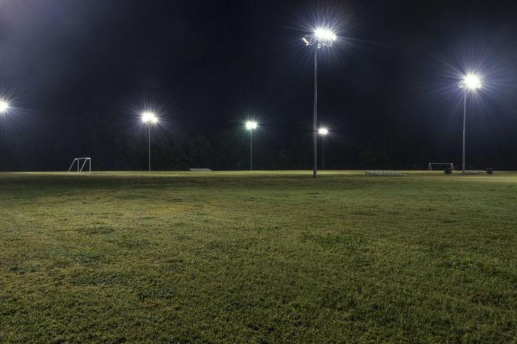Soccer goal in