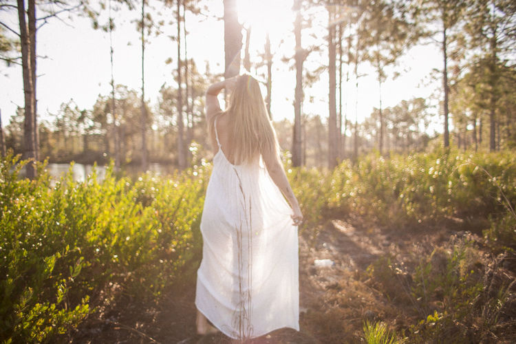 Ty in Florida in January Adult Adults Only Day Grass Long Hair Nature One Person One Woman Only One Young Woman Only Only Women Outdoors People Rear View Sky Summer Sunlight Tree Women Young Adult Young Women