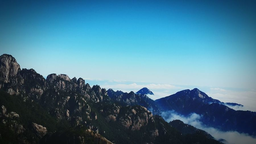 Morning Sky Mountains And Sky Taking Photos Clouds China Culture黄山云海