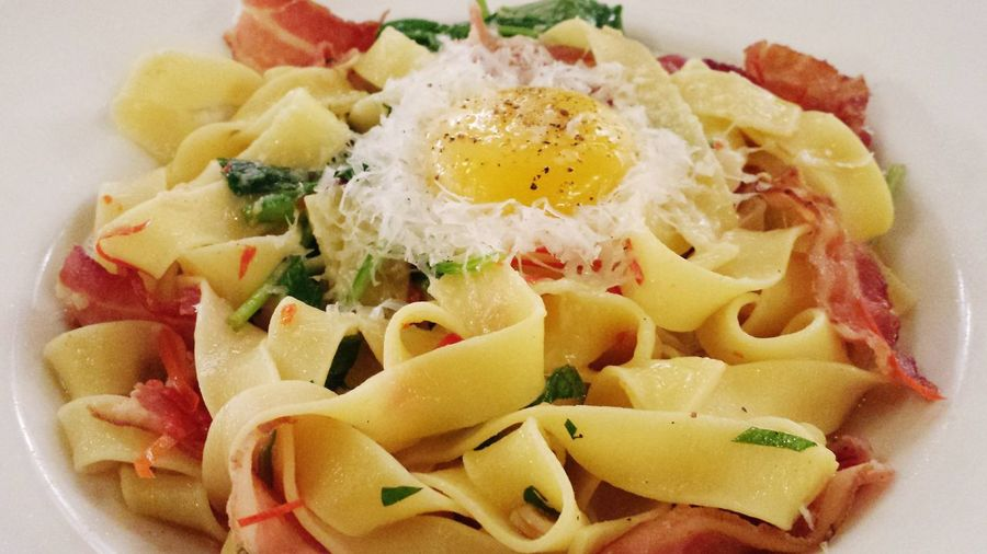 Fettuccine carbonara @ Bannock Food Foodie Foodpics Foodporn