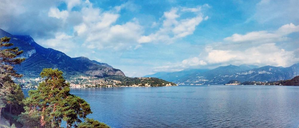 Panorama Lake Como From Where I Stand InLombardy Blogville Fotostrasse