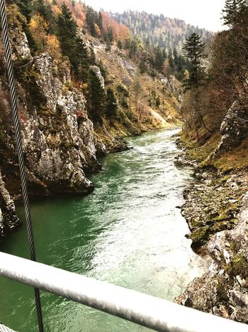 Schlucht Bayern, Germany River Water No People Day