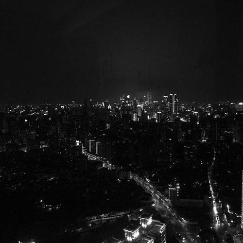 Lana del ray Architecture Cities At Night Black&white Cityscape Landscape Outdoors No People Night Illuminated Sky And City Skylight View From Above Goodnight EyeEm