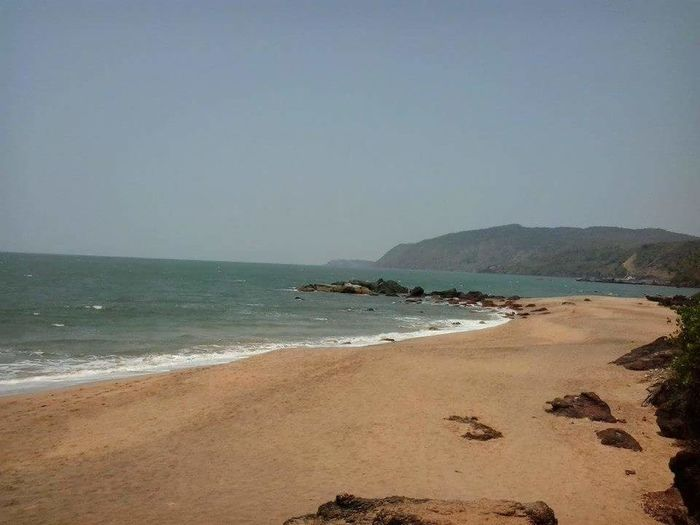 Sea Nature Beach Beauty In Nature No People Water Scenics Travel Destinations Cola Beach Goa