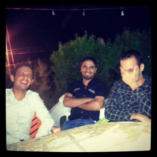 Laughing GoingOut Enjoying With My Friends