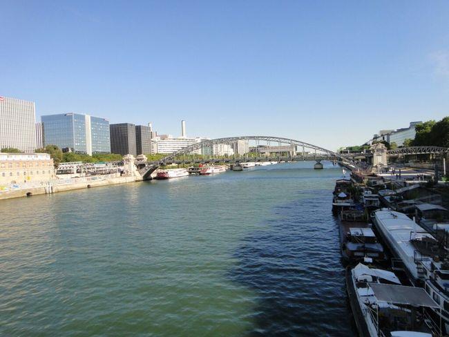 River Bridge Seine La Seine