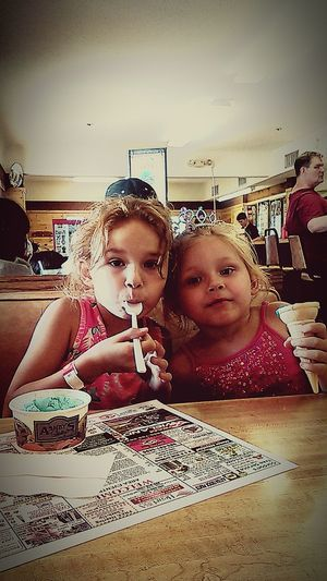 Kahilee and Kate Hanging Out