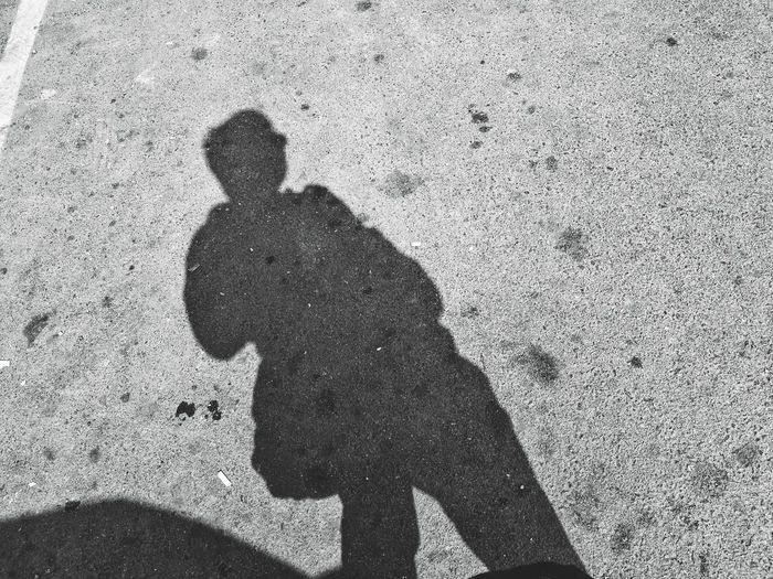 Under the sun Shadow Real People One Person Day One Man Only Silhouette Outdoors Standing