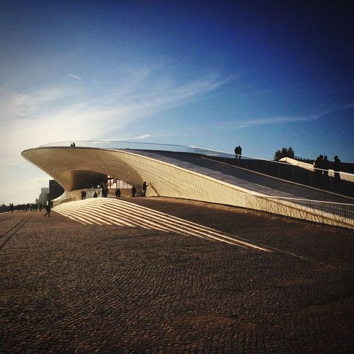 Curve-se Curves Maat, Portugal, Belem MAAT Museum Maat Tourist Attraction  Tourism Museum Sky Architecture Built Structure Day Nature Building Exterior Outdoors