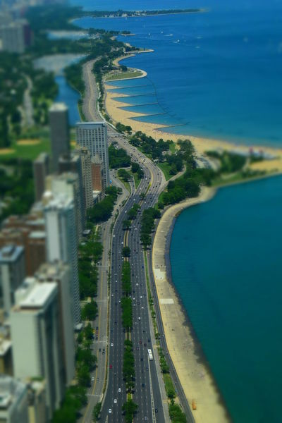 Beach Sea Aerial View Water No People High Angle View Travel Destinations Outdoors Vacations City Sand Architecture Day Nature Horizon Over Water Cityscape Tree Sky Chicago Chicago Architecture Chicago ♥ Shoreline Michigan Lake Buildings