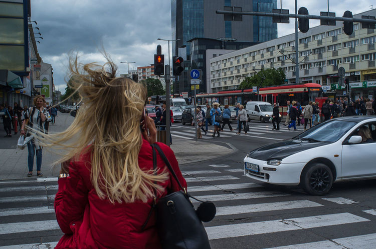 City City Life Day Hair People Real People Street The Street Photographer - 2017 EyeEm Awards Traffic Wind Windy Day Windy Hair Windyweather Women The Week On EyeEm Adventures In The City