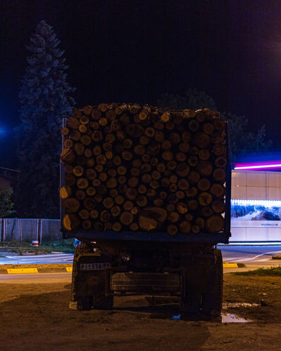 Truck loaded with wood Wood Pirot Travel Photography Trucks Truck Street Photography Vehicle Lorry Streets Blue Old Vehicle Car Serbia Travel Blue Truck Transportation Firewood Street Old Truck Old Serbian Streets Serbian Transport Night Illuminated Tree No People Nature Architecture Sky City Log Wood - Material Timber Outdoors Built Structure Plant Glowing Cold Temperature Bench Field The Street Photographer - 2019 EyeEm Awards