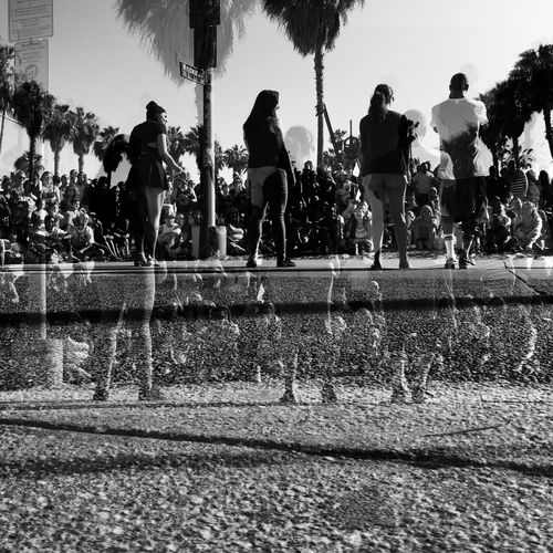 Venice Beach EEA3-Santa Monica / Venice Beach NEM Black&white Mob Fiction Huffington Post Stories EEA3