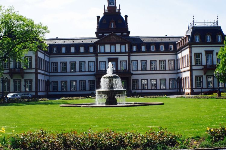 Architecture Façade Fountain No People Outdoors Hanau