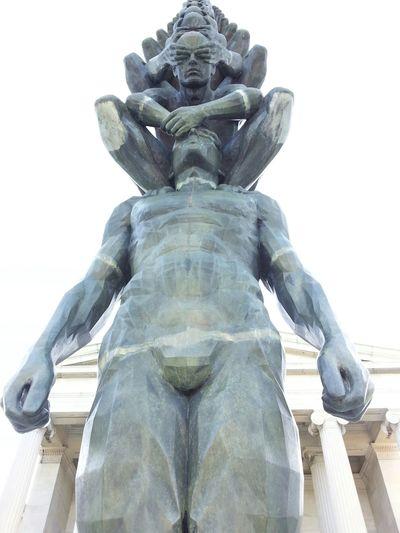 Showcase: December Buffalo,ny Statue Albrightknox Albright Knox Manonman Gaypride