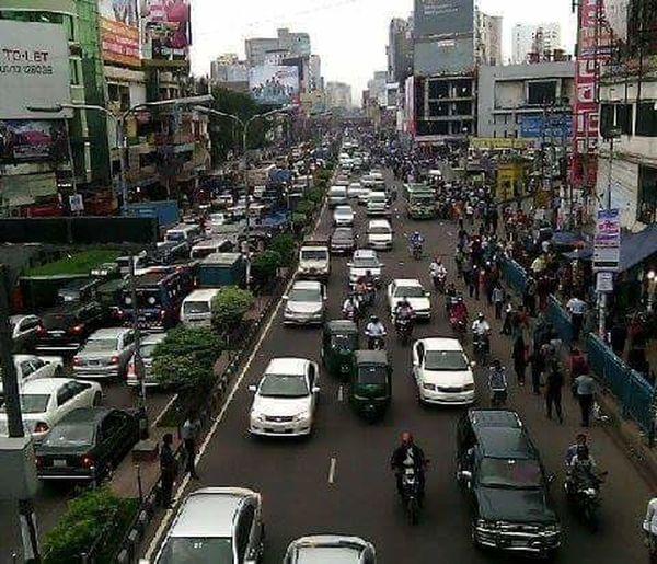 Our capital city Dhaka,of Bangladesh.