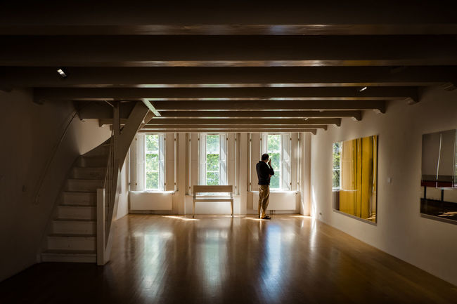 Amsterdam Contemplation Huis Marseille Adult Arcade Architecture Building Built Structure Ceiling Corridor Day Flooring Full Length Gallery Gallery Photography Indoors  Lifestyles Nature One Person Real People Rear View Standing Sunlight Window Women #FREIHEITBERLIN