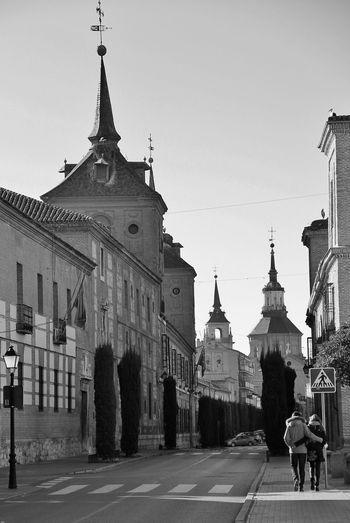 Hello World Idyllic EyeEm Gallery El Tiempo Detenido Hi!! Scenics EyeEm Architecture Black And White Alcala De Henares City Madrid Spain
