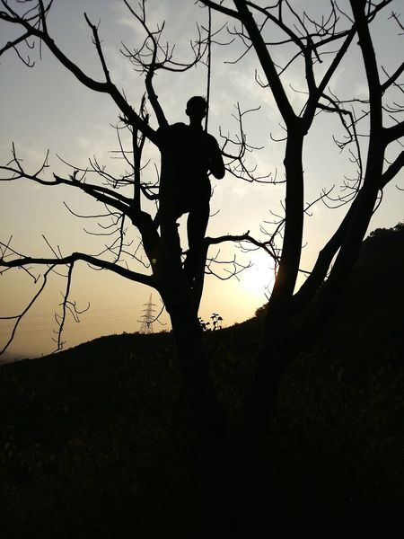 Adventure Club Hiking Beyond The Horizon Silhouette Sun In The Background Margalla Hills Sunset Silhouettes Sunset #sun #clouds #skylovers #sky #nature #beautifulinnature #naturalbeauty #photography #landscape Sunset