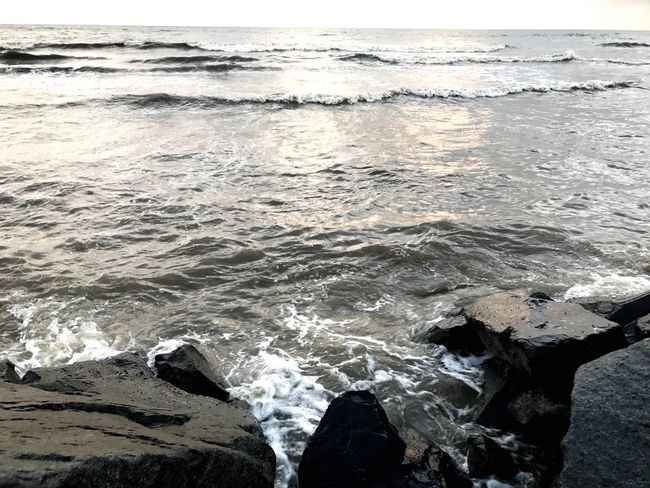 Sea Water Wave Nature Beauty In Nature Beach No People Day Outdoors Scenics Horizon Over Water Close-up