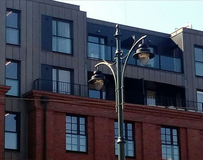 Architecture Building Exterior Window Built Structure Plombs No People Day Outdoors Sky CracowCity Poland Streetlamp