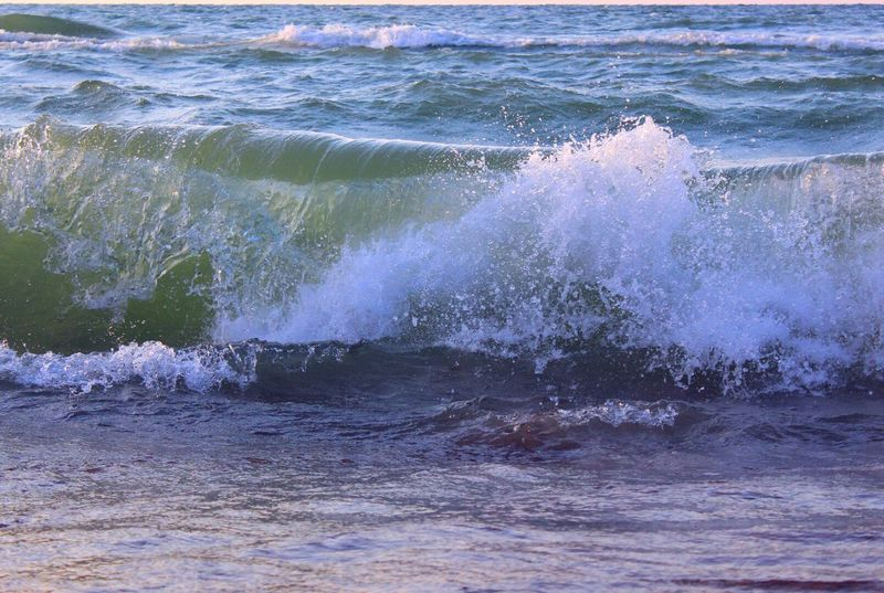 Beautiful Nature Nature_collection Waves Crashing Beach Beachphotography Sunshine Summer Waves Water_collection Nature