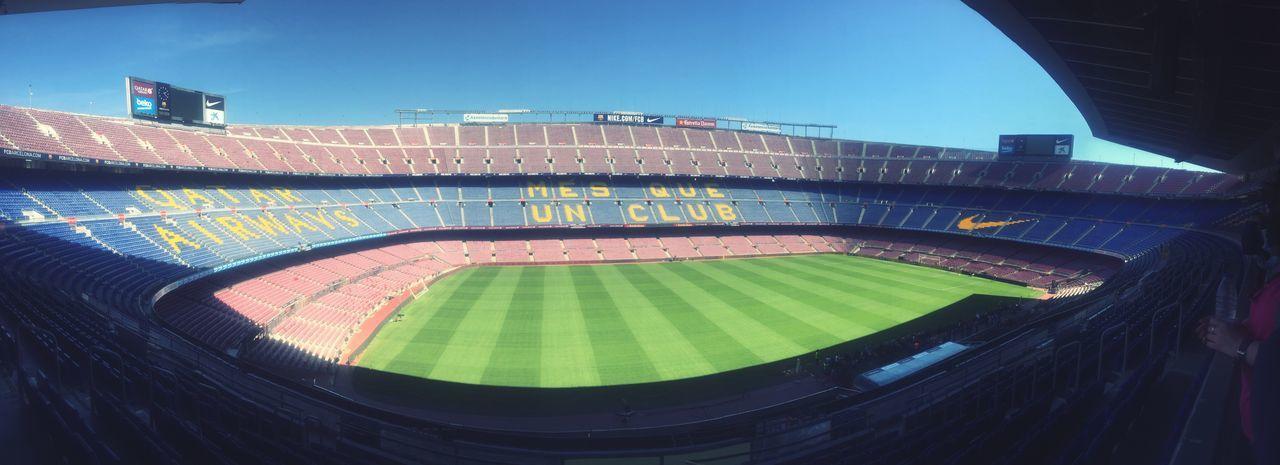 FCB <3 Camp Nou Experience Stadium Sport Soccer
