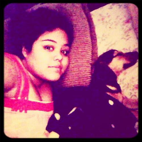 A dormir con ella :)