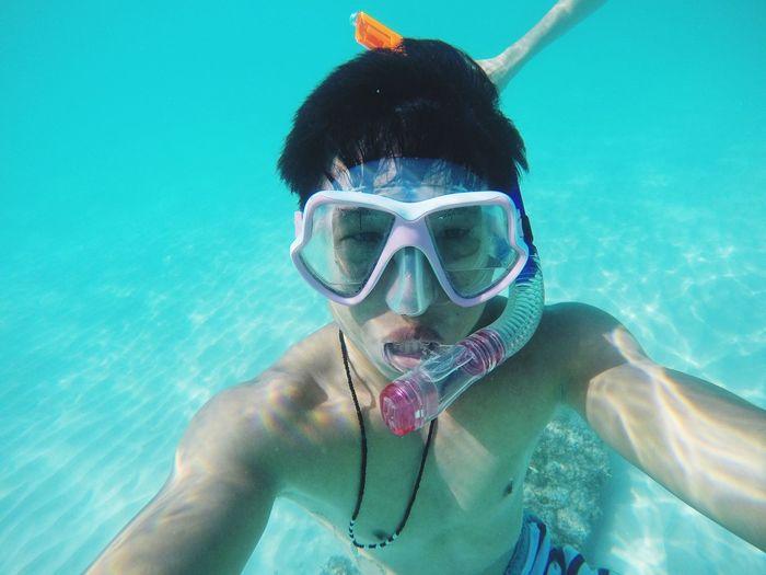 Goprohero4 Boracay Philippines Treediary Snorkeling